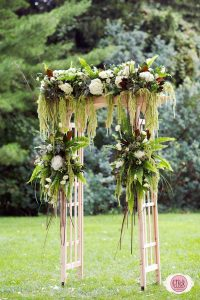 Wedding Arch With Greens