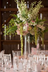 Tall Loose Floral Centerpiece